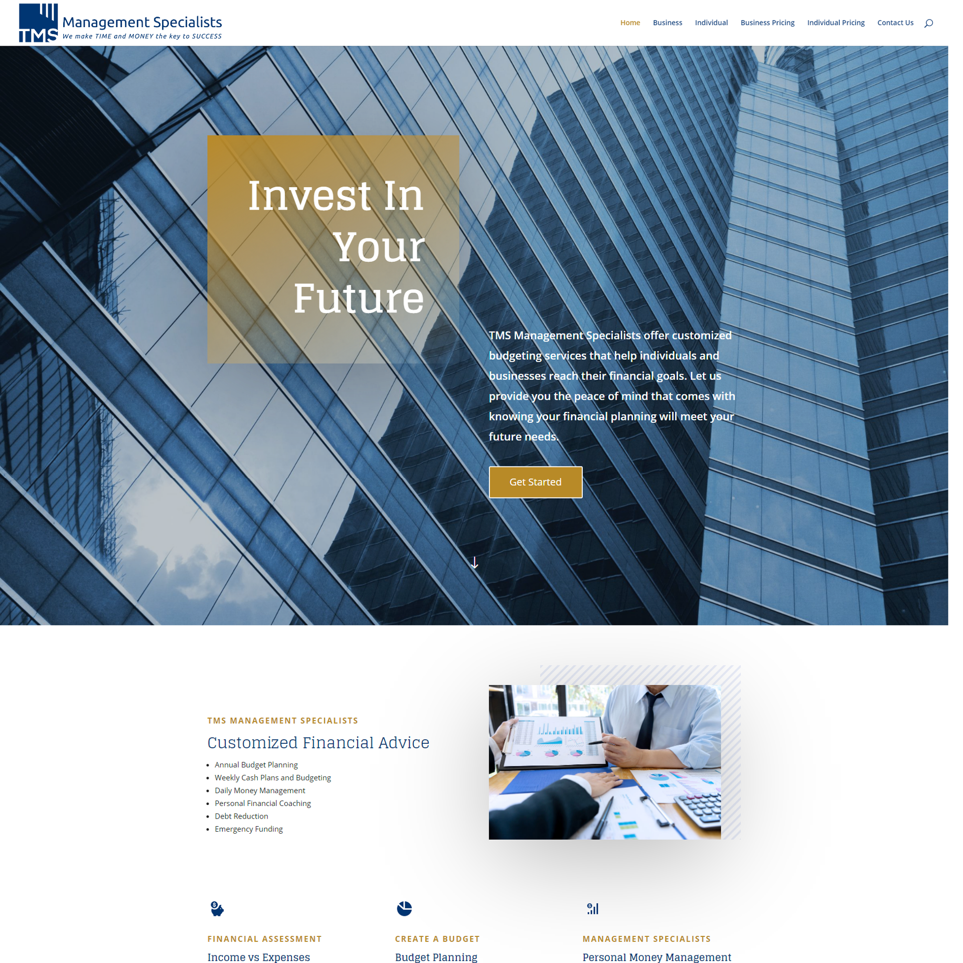 The Maintenance Experts Website Design and Development